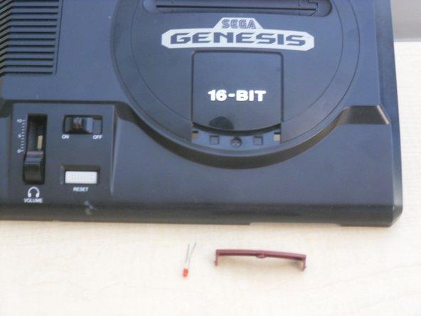 Remplacement de la LED d'alimentation du Sega Gensis