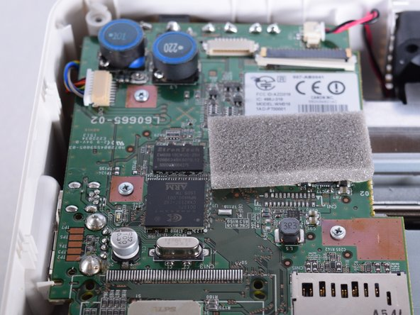 Using the PH1 screw driver. Carefully remove the three screws latched on to the motherboard.