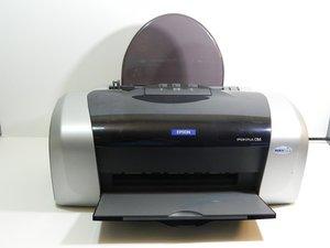 Repairing Epson Stylus C84 Printing Disabled