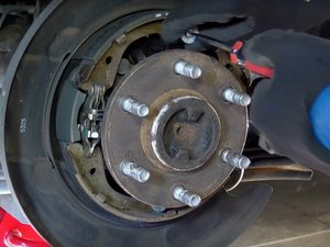 Rear Brake Replacement