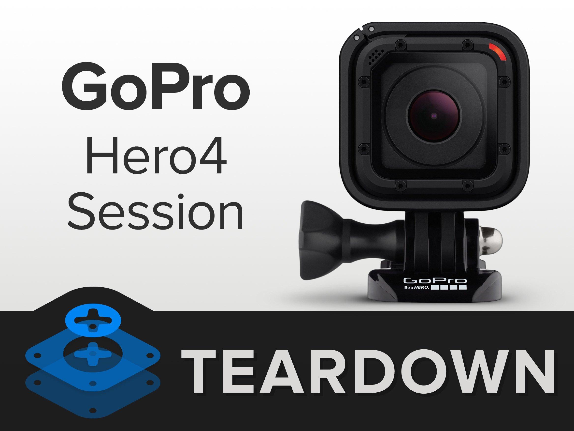 GoPro Hero4 Session Teardown - iFixit