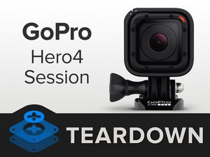 GoPro Hero4 Session Teardown