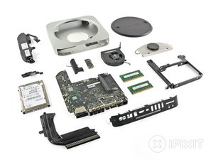 Mac mini Mid 2011 Teardown