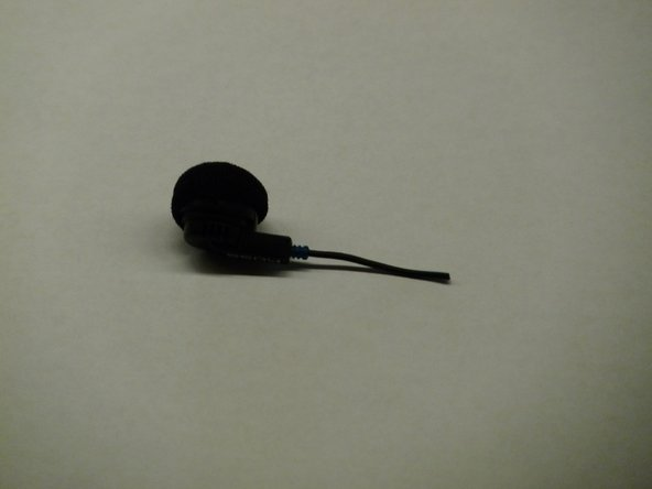 As you can see this is your average ear bud, from these two pictures you can see the front and the back.