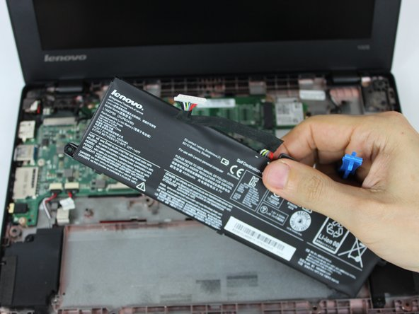 Lenovo 100s Chromebook-11IBY Battery Replacement