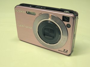 Sony Cyber-Shot DSC-W120 Teardown