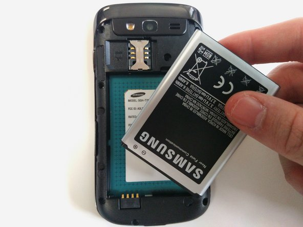 Image 3/3: The battery will fall out easily.