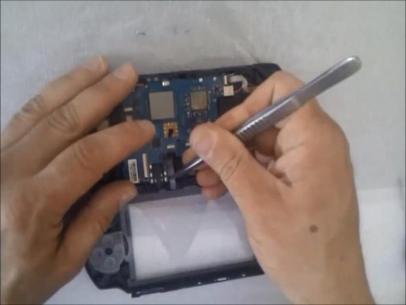 Disassembling the screen.