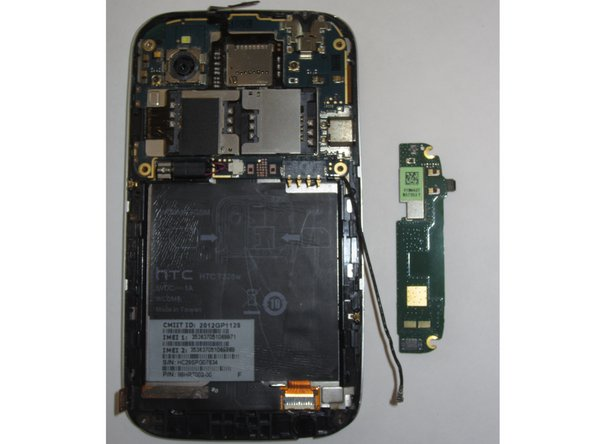 HTC Desire V Button Assembly Replacement