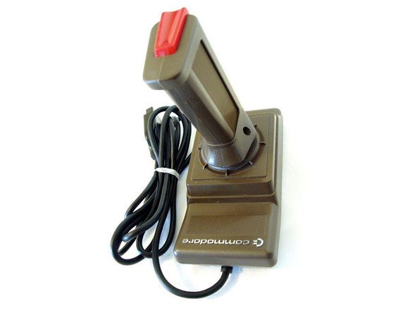 Introduced in 1984, the Commodore 1341 joystick was designed for use with the Commodore range of computers including the Commodore 64, 128, VIC20 and Commodore Plus4.
