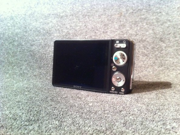 Sony Cyber-shot DSC-W230 LCD Display Screen Replacement