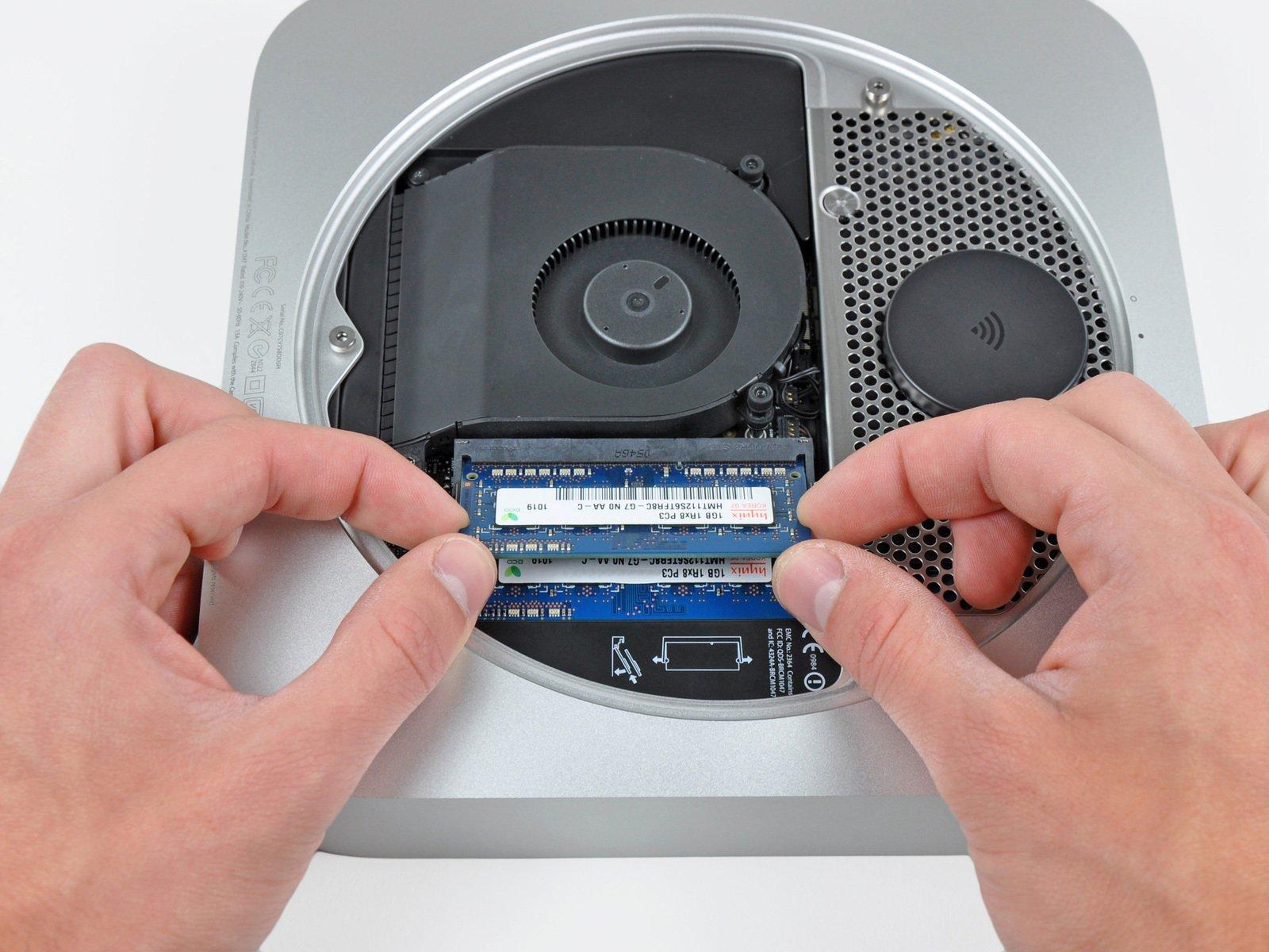 mac mini 2013 ram specs