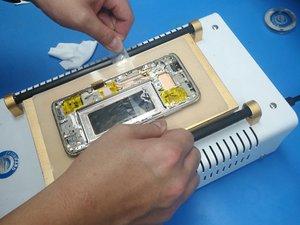 Как отремонтировать Samsung Сломанный пограничными экранов в тепловом разъединении?