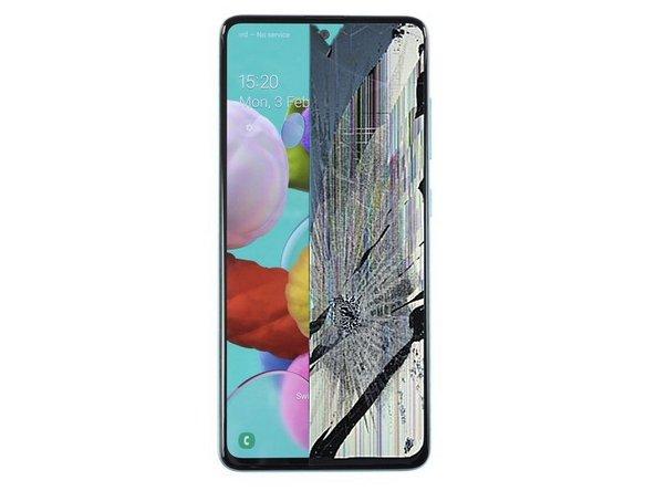 Remplacer la vitre écran du Samsung Galaxy A51