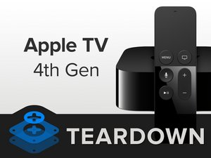 Разбираем Apple TV 4-го поколения