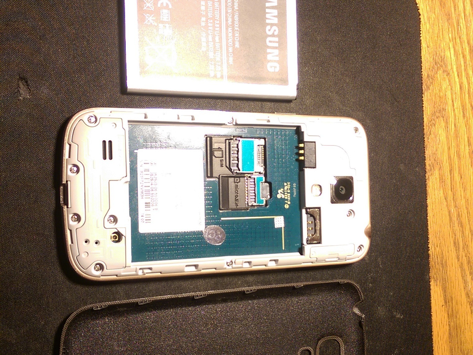 home button flex cable assembly