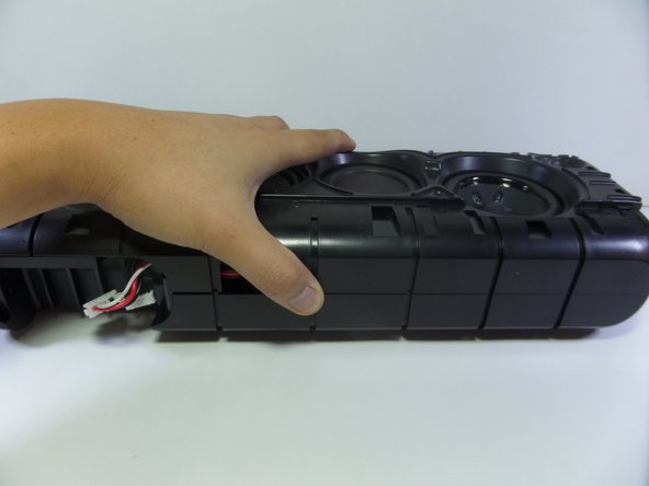 Image 2/3: The screws at this step are embedded deep within the device so make sure your screw driver is long.