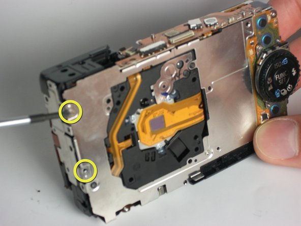 Disassembling Canon Powershot SD880 Flash