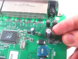 NETGEAR WGT624 v3 Capacitor Replacement