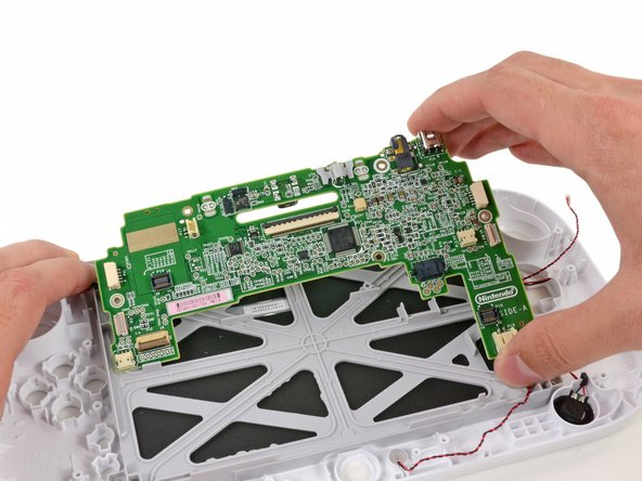 Image 1/1: The GamePad's motherboard is easily displaced from the front panel case.