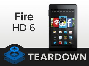 Kindle Fire HD 6 Teardown