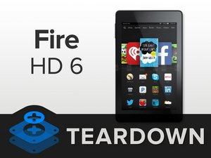 Kindle Fire HD 6 Teardown