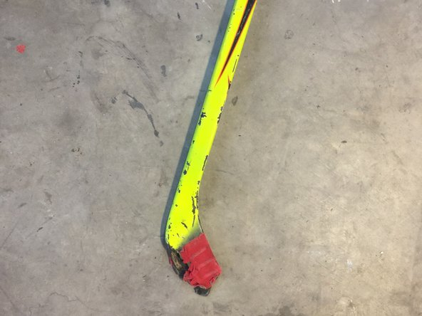 Two Piece Hockey Stick  Repair
