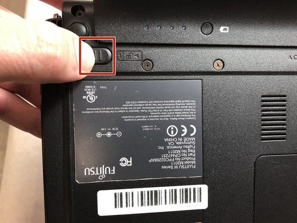 Fujitsu M2011 Battery Replacement
