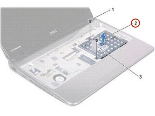 Place the hard-drive assembly in the computer base.
