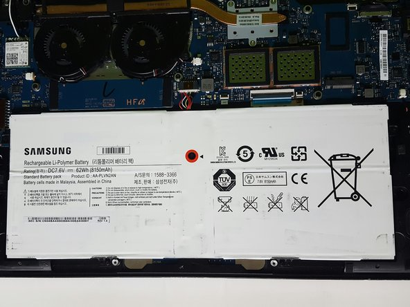 SAMSUNG ATIV Book 9 Plus NP930X5J-S01US Battery Replacement
