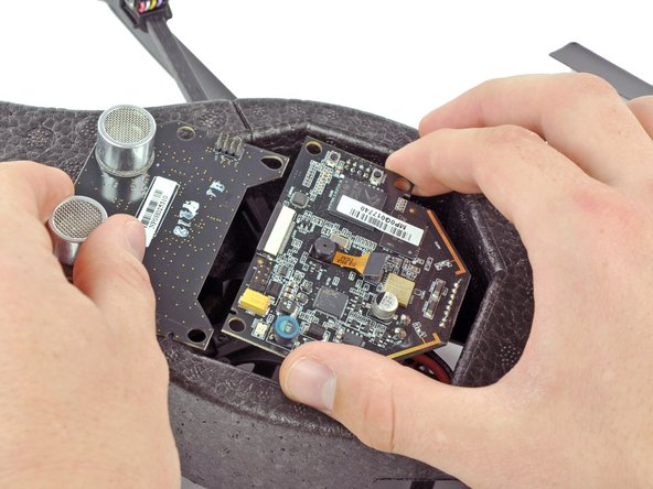 Removing the motherboard from the Parrot AR.Drone