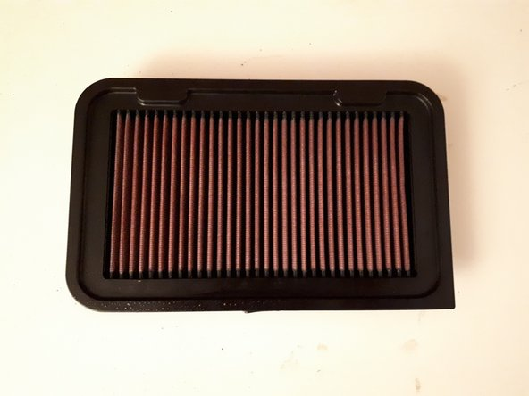 2010-2017 Suzuki Swift Engine Air Filter Replacement