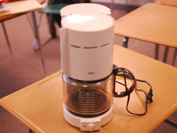 Braun Coffee Maker How To Clean : How To Clean Your Coffee Maker - iFixit