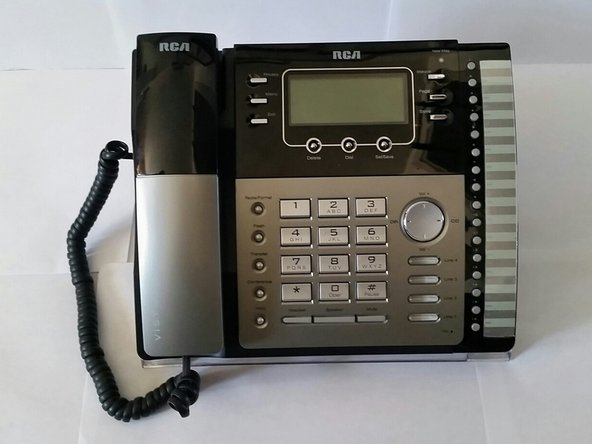 rca visys 25424re1 repair ifixit rh ifixit com RCA Phones and Data Switches RCA 25424RE1 Cordless Headset