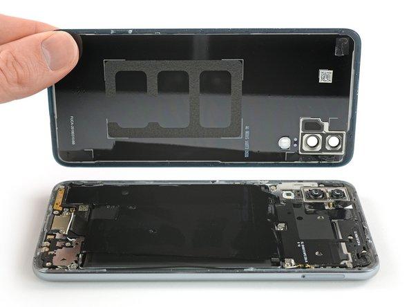 Huawei P20 Rückabdeckung aus Glas tauschen