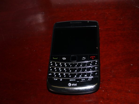 Well there it is, the Blackberry 9700. Other than the trackpad there aren't many notable features, but hey it's a Blackberry! It's also smaller and cheaper than it's predecessor the 9000.