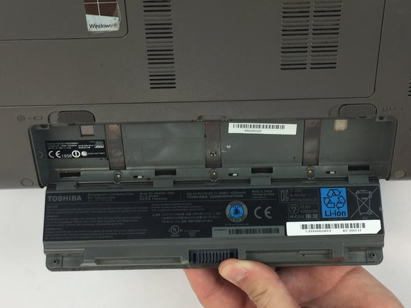 Toshiba Satellite P855-S5102 Battery Replacement