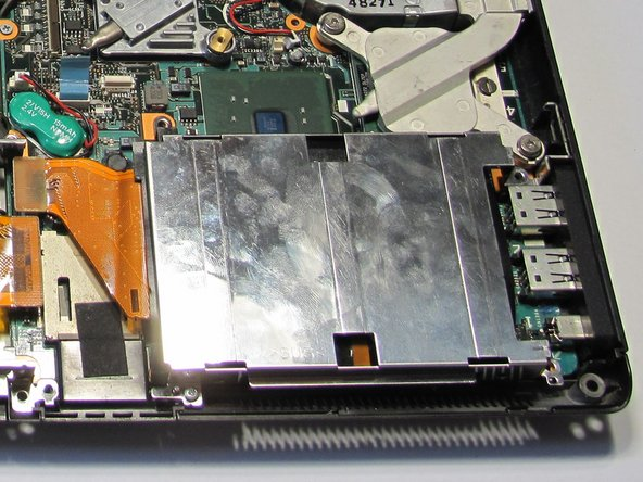 Sony Vaio VGN-S260 Hard Drive Replacement