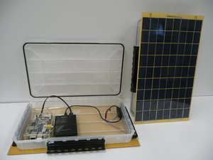 SolarSPELL Assembly