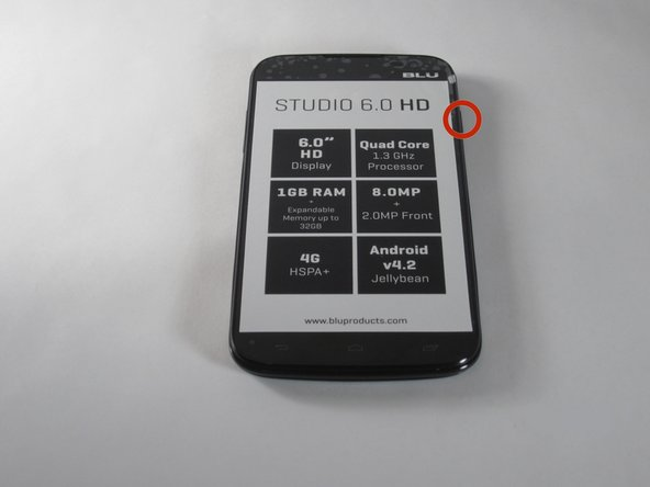 Begin by making sure your Blu Studio is turned off.