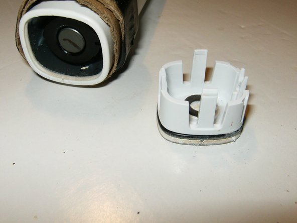 Here is the endcap showing the tabs that hold it securely in place once inserted