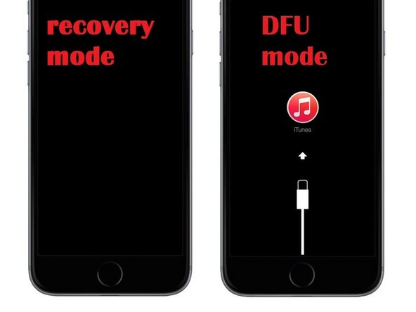 iPhone - 4 / 4S / 5 / 5S / 5c / 6 / 6S - in DFU Modus versetzen