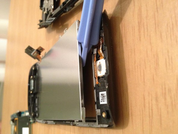 Image 3/3: With the board removed, you can then simply lift out the LCD display