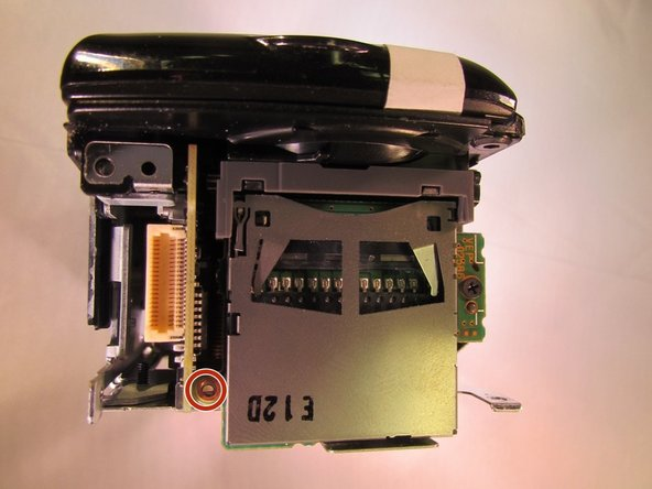 Panasonic SDR H-100 Front Cover and Midframe Replacement