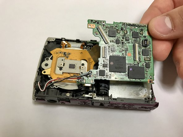 Nikon Coolpix S230 Motherboard Replacement