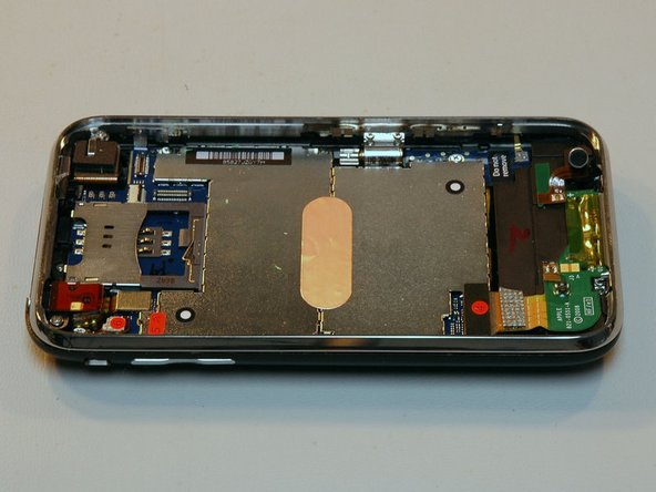 Behold, the iPhone! Can you see the 3G bits inside?