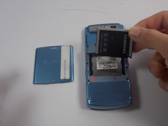 Remove the old battery and replace with the new one.