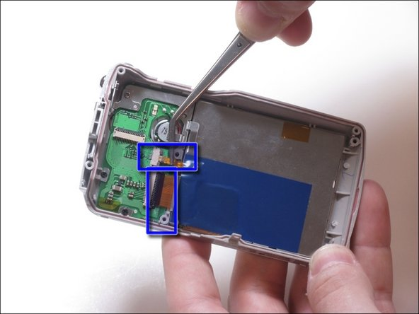 Image 2/2: LCD Screen is attached to 2 ribbon wires