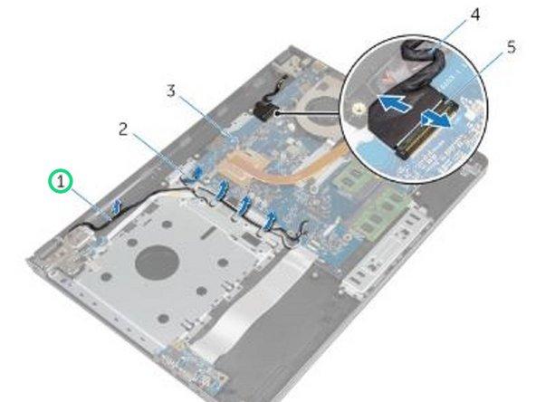 Reemplazo del ensamblaje de la pantalla Dell Inspiron 15-5558