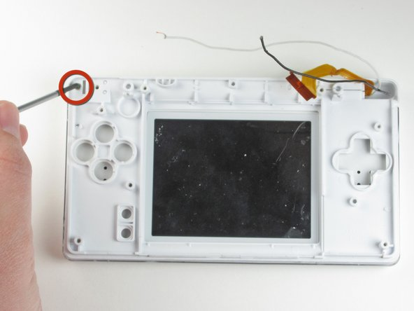 Nintendo DS Lite Top Screen Replacement
